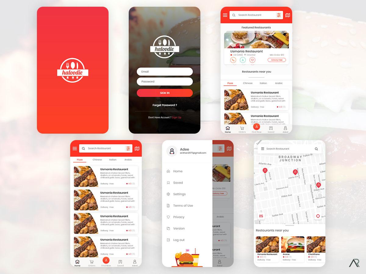 Haloodie Halal Restaurant Finder App Uplabs