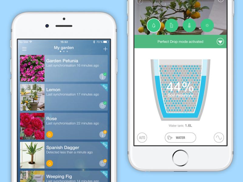 parrot flower power app uplabs. Black Bedroom Furniture Sets. Home Design Ideas