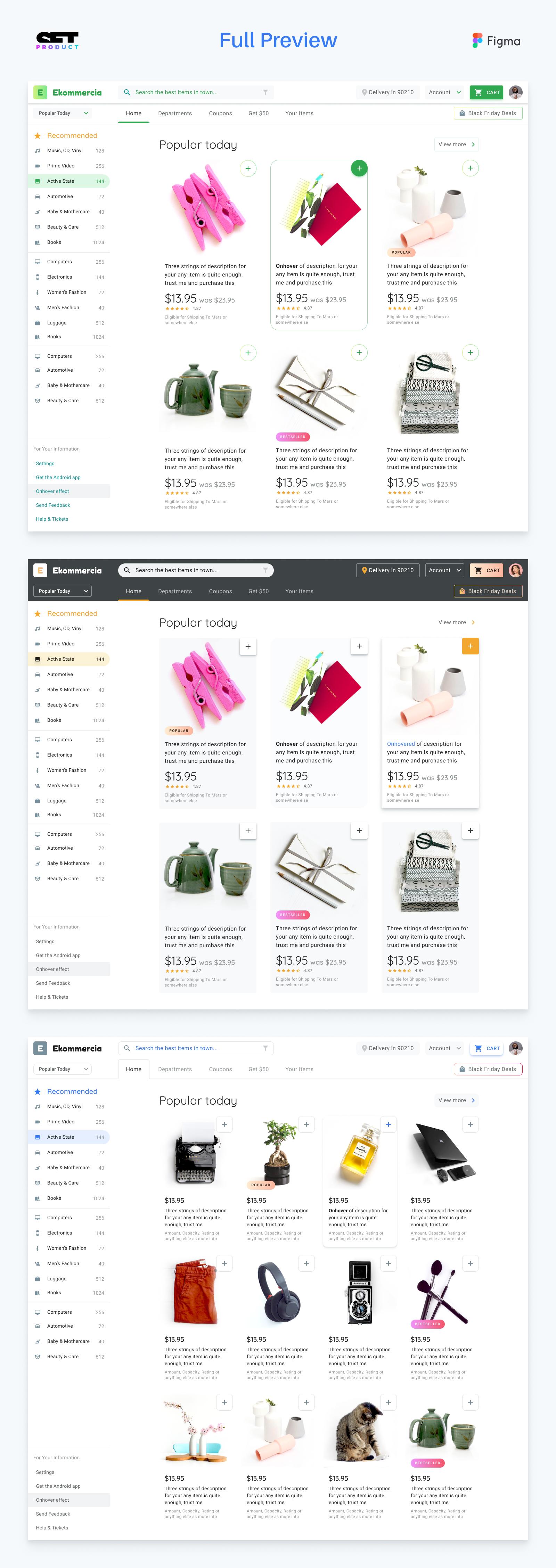 Figma Desktop Templates For Material Design - UpLabs