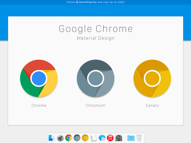 Google Chrome Icons For OS X - Uplabs