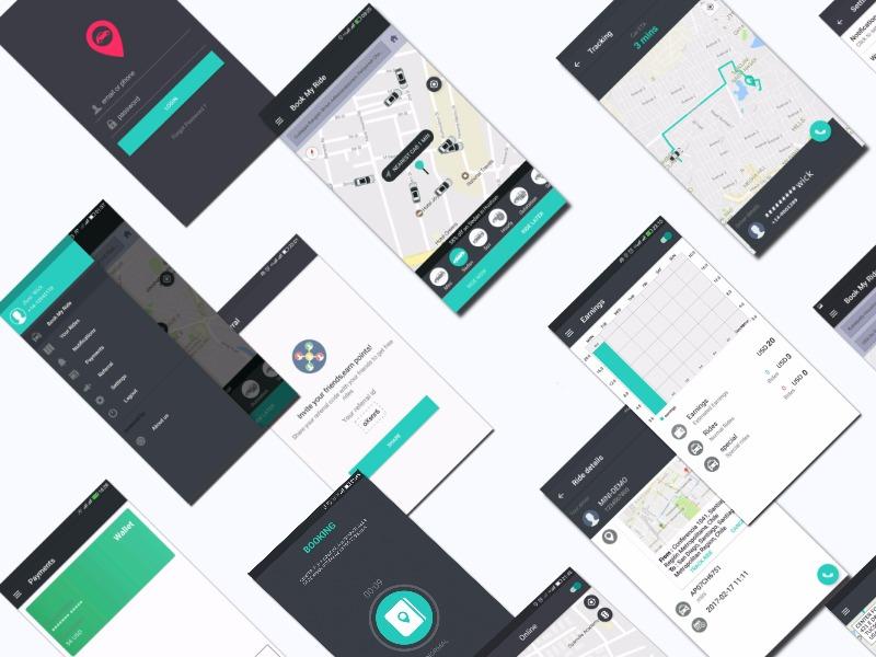 Takushy Cab Booking App - UpLabs