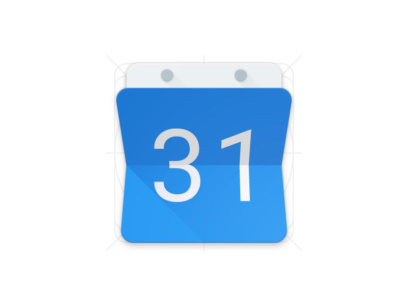 Google Calendar Icon Materialup