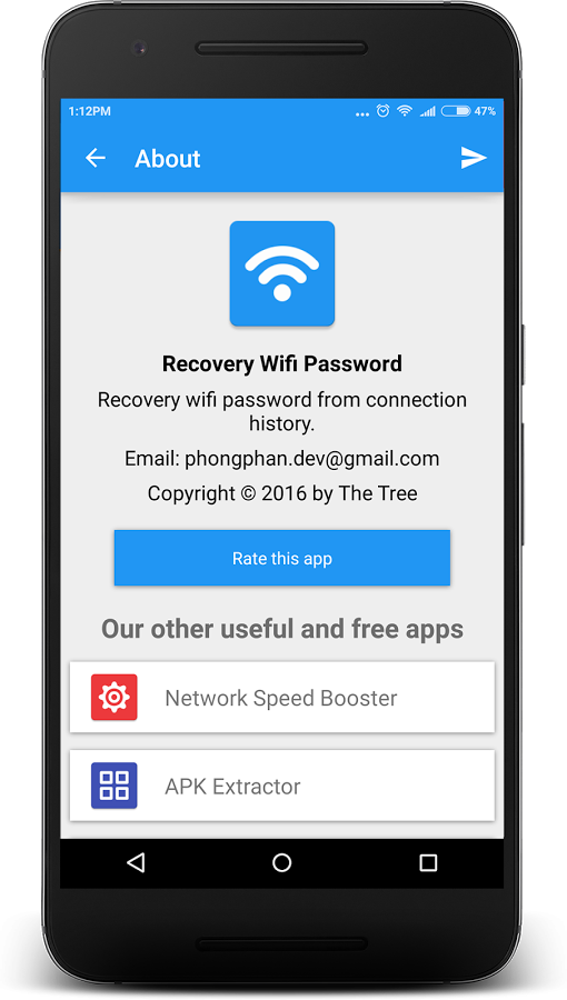 Wifi Password Recovery Android App - UpLabs