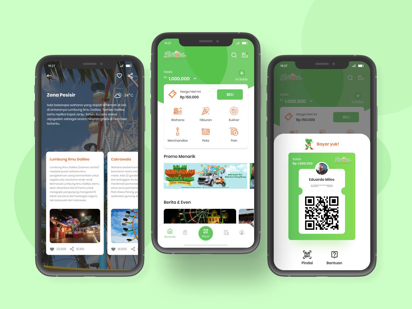 App Di Design theme park apps ui kit | search by muzli