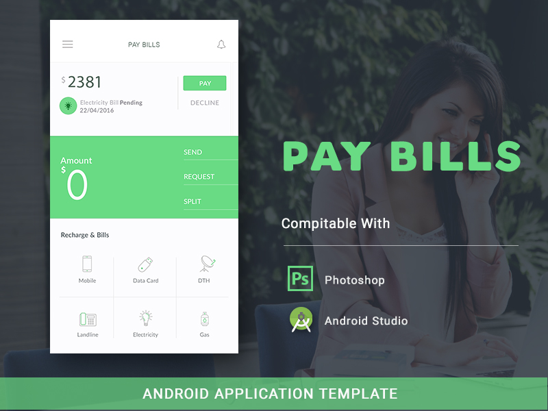 android app template