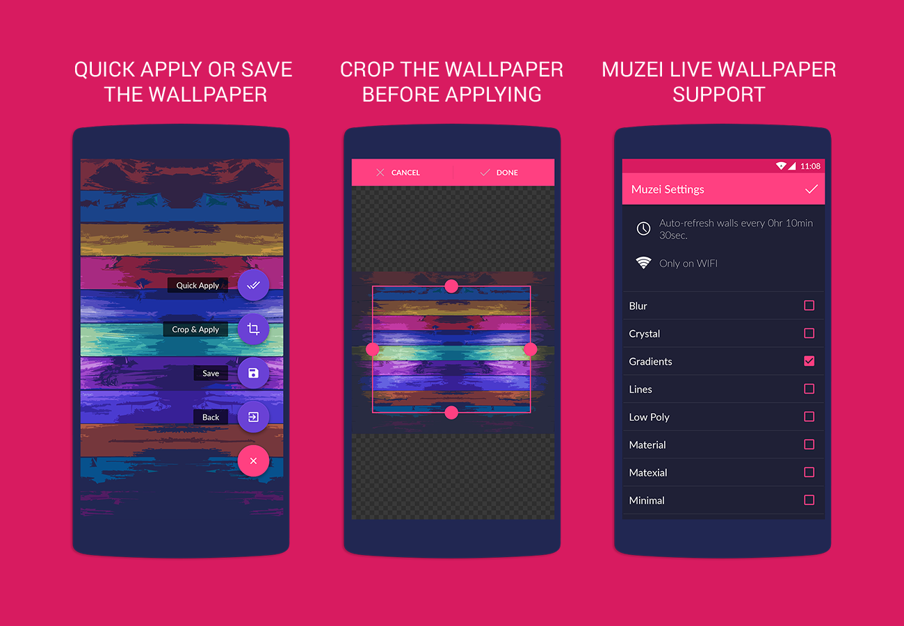 Wallrox Wallpapers Android App Uplabs