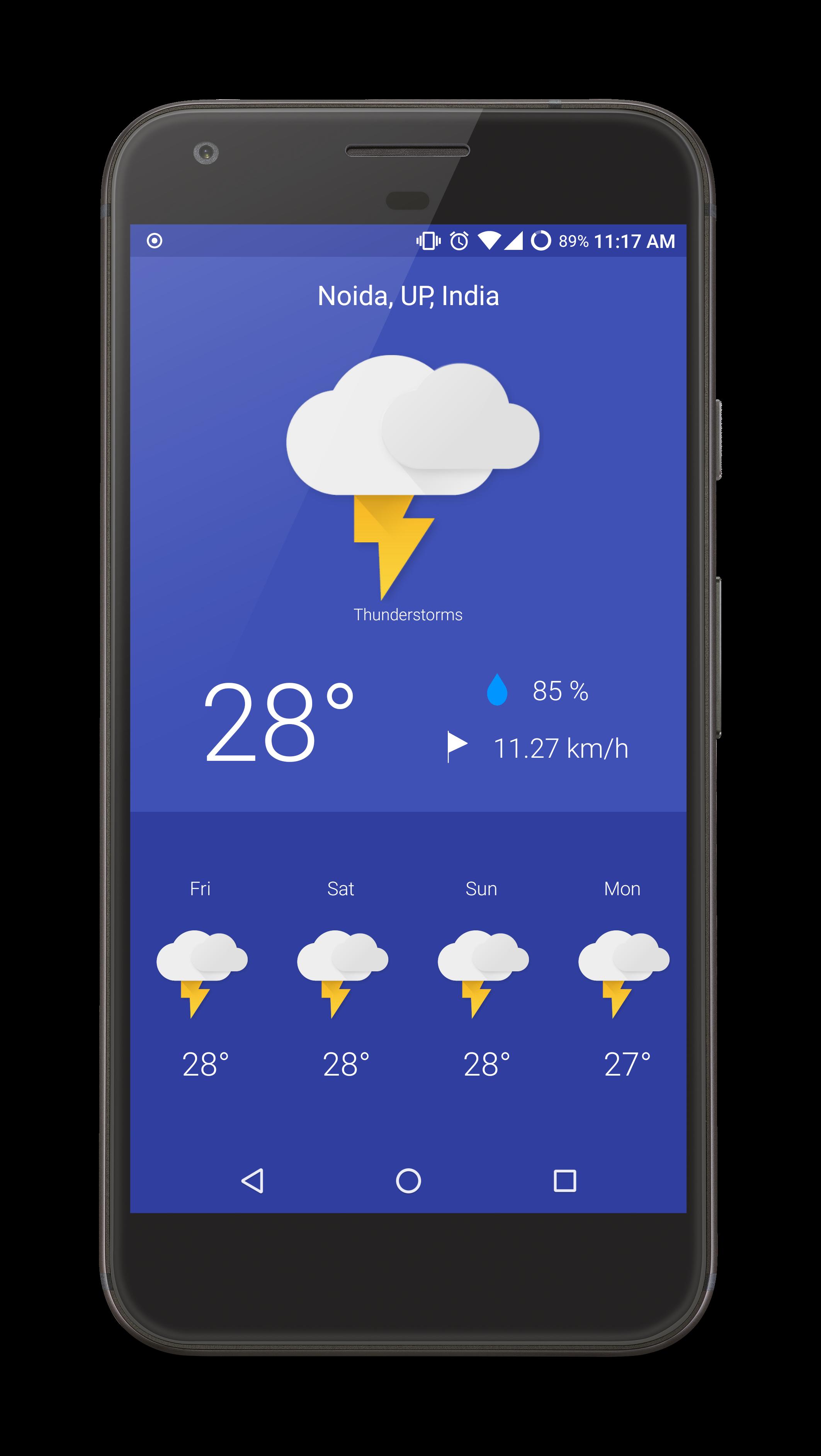 Kotlin Weather App Uplabs