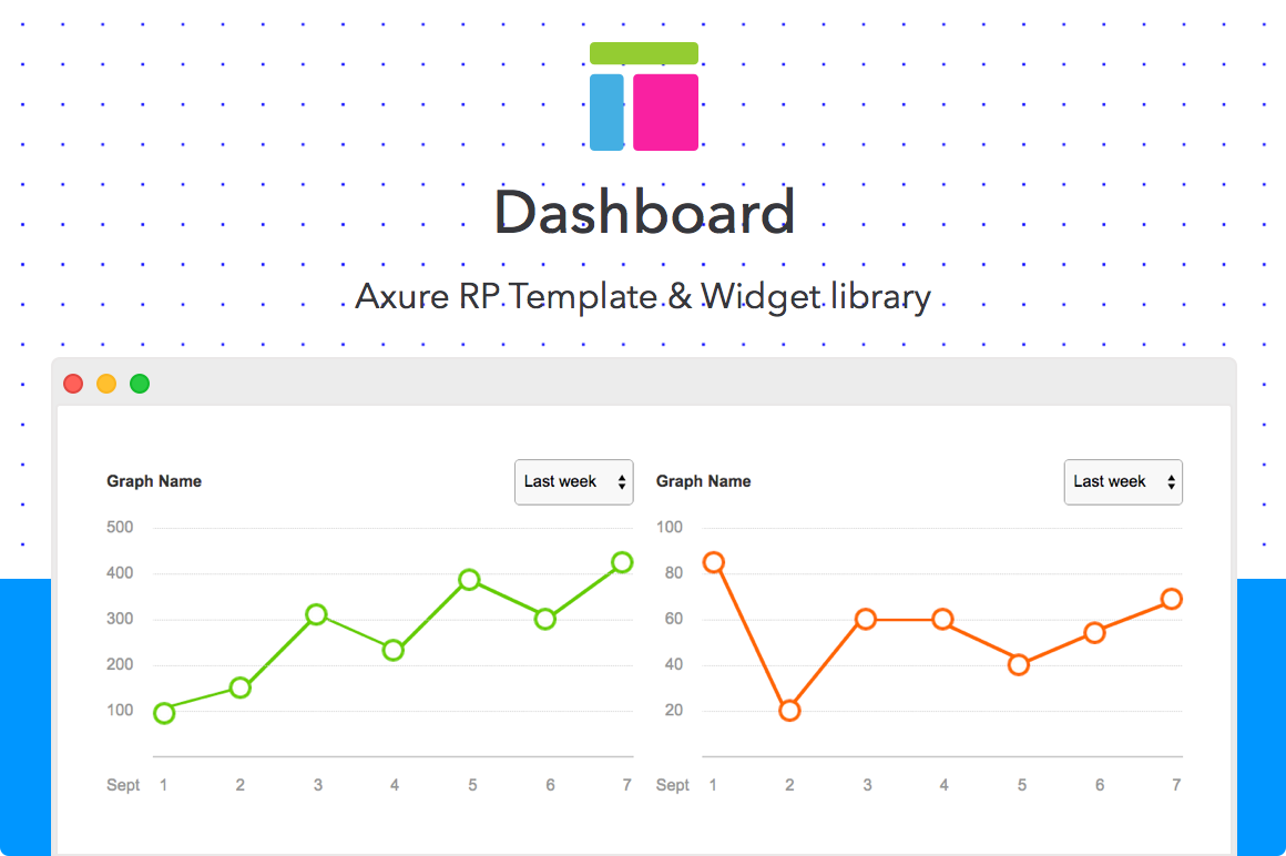 Dashboard Axure Rp Template Uplabs
