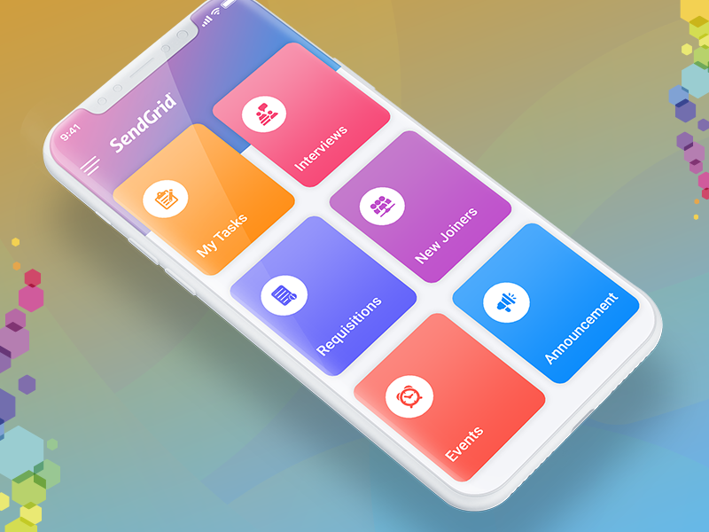 HRM-HCM Mobile App Development