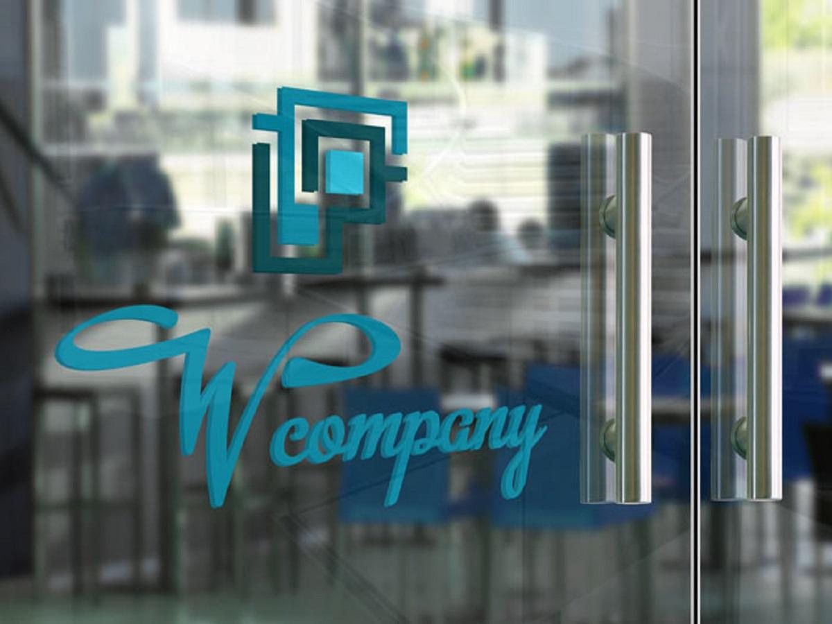 Free Glass Door Logo Mockup Psd Uplabs