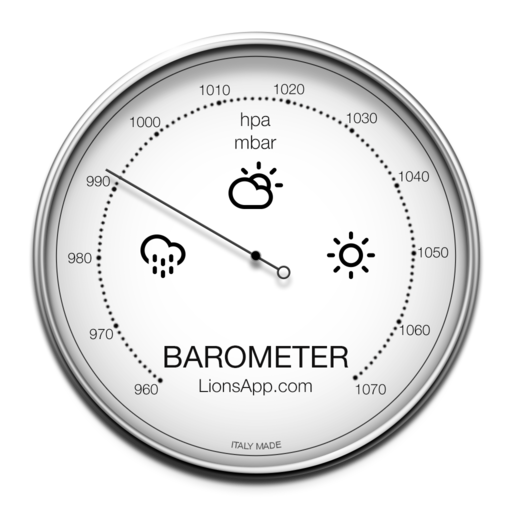 Barometer Mac Icon Iosup