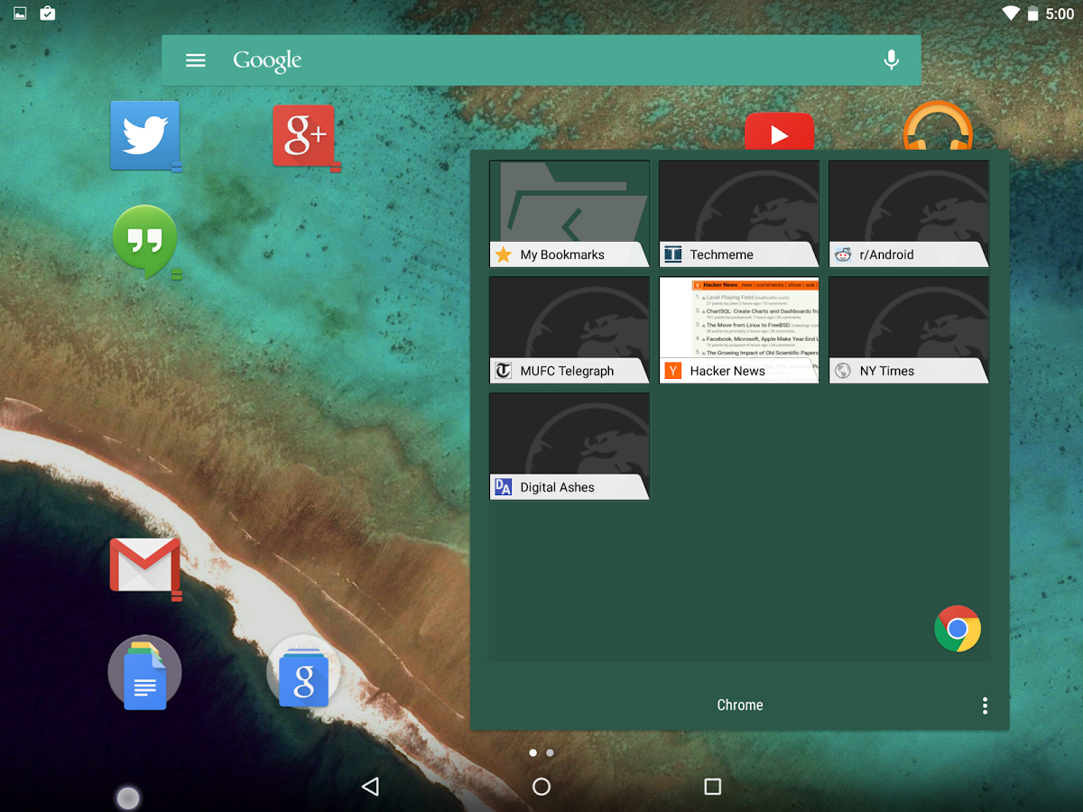 Action Launcher 3 - UpLabs