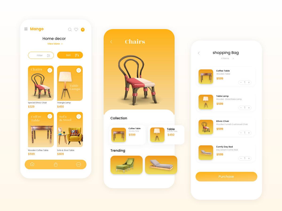 Freebie Home Decor App Design Uplabs