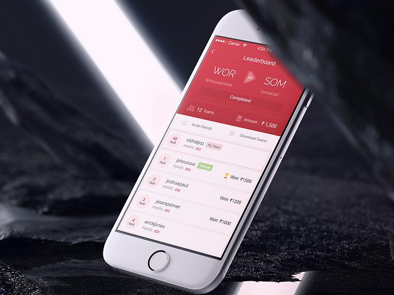 Dream11 Dashboard - UpLabs