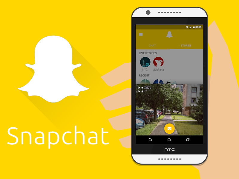 how to start a snapchat streak in android