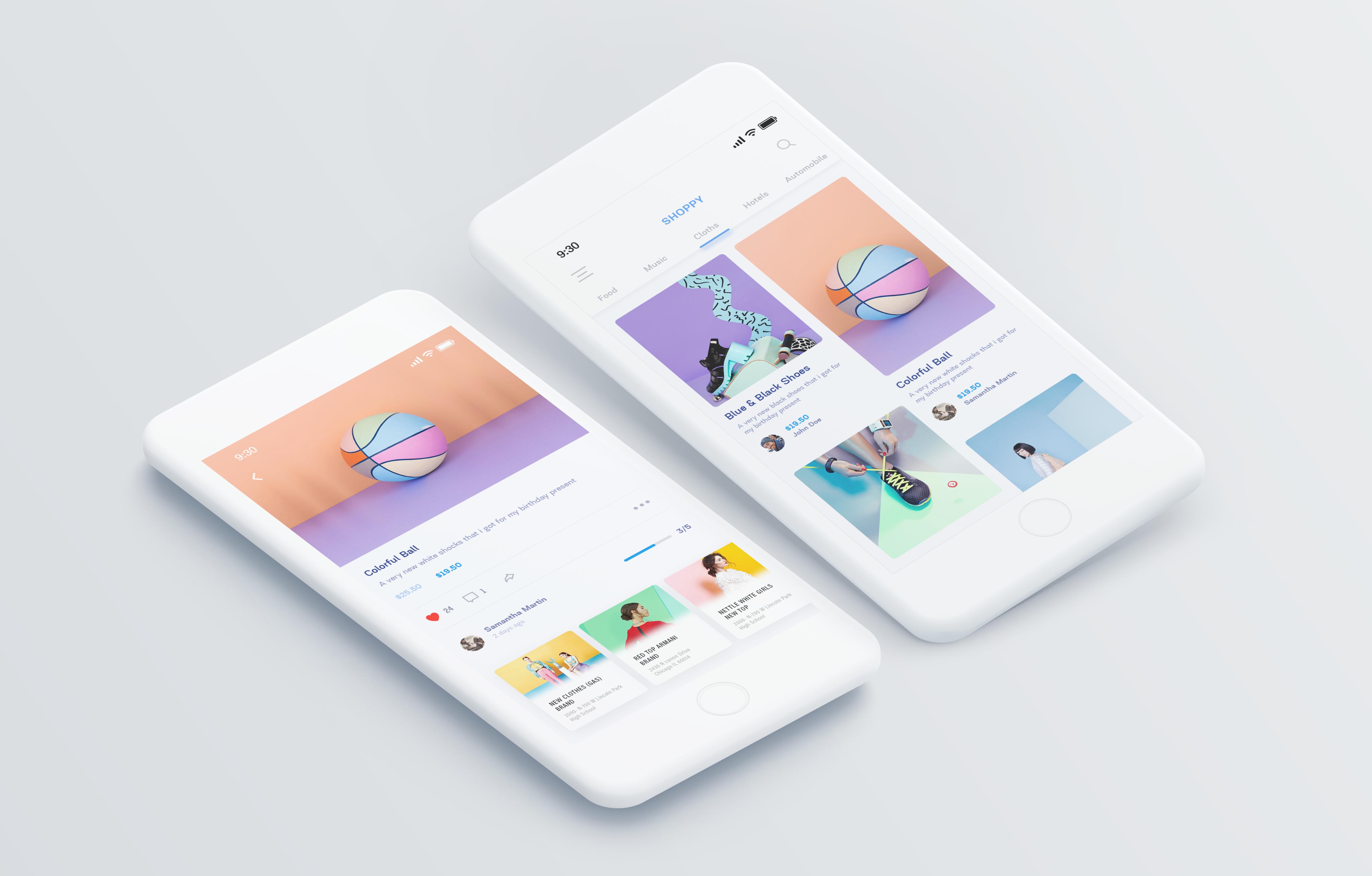 Shoppy App - UpLabs