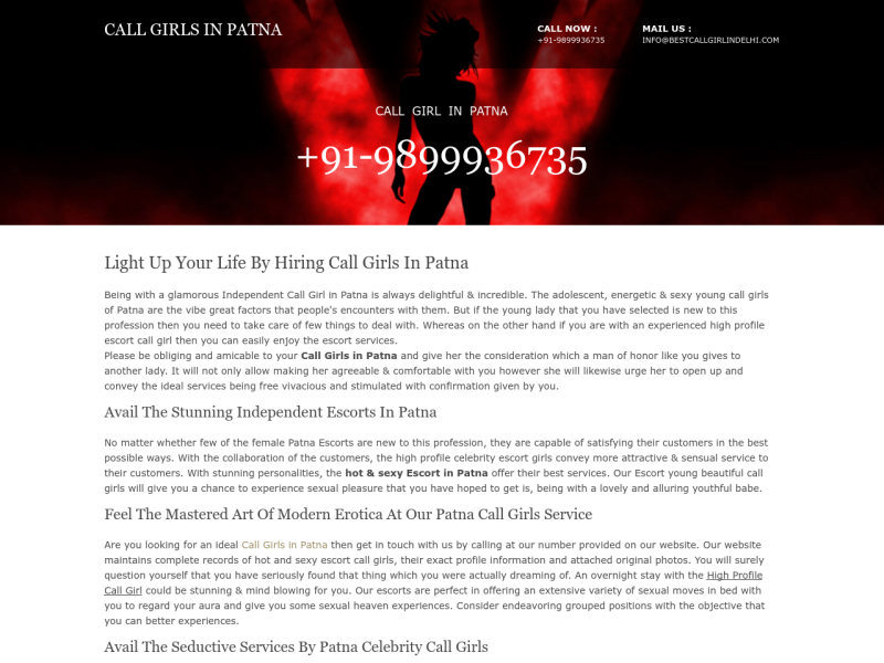 Call Girls in Patna | +91-9899936735 - UpLabs