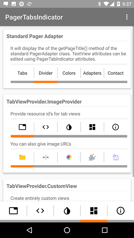 Pager Tab Indicator Customizer - UpLabs