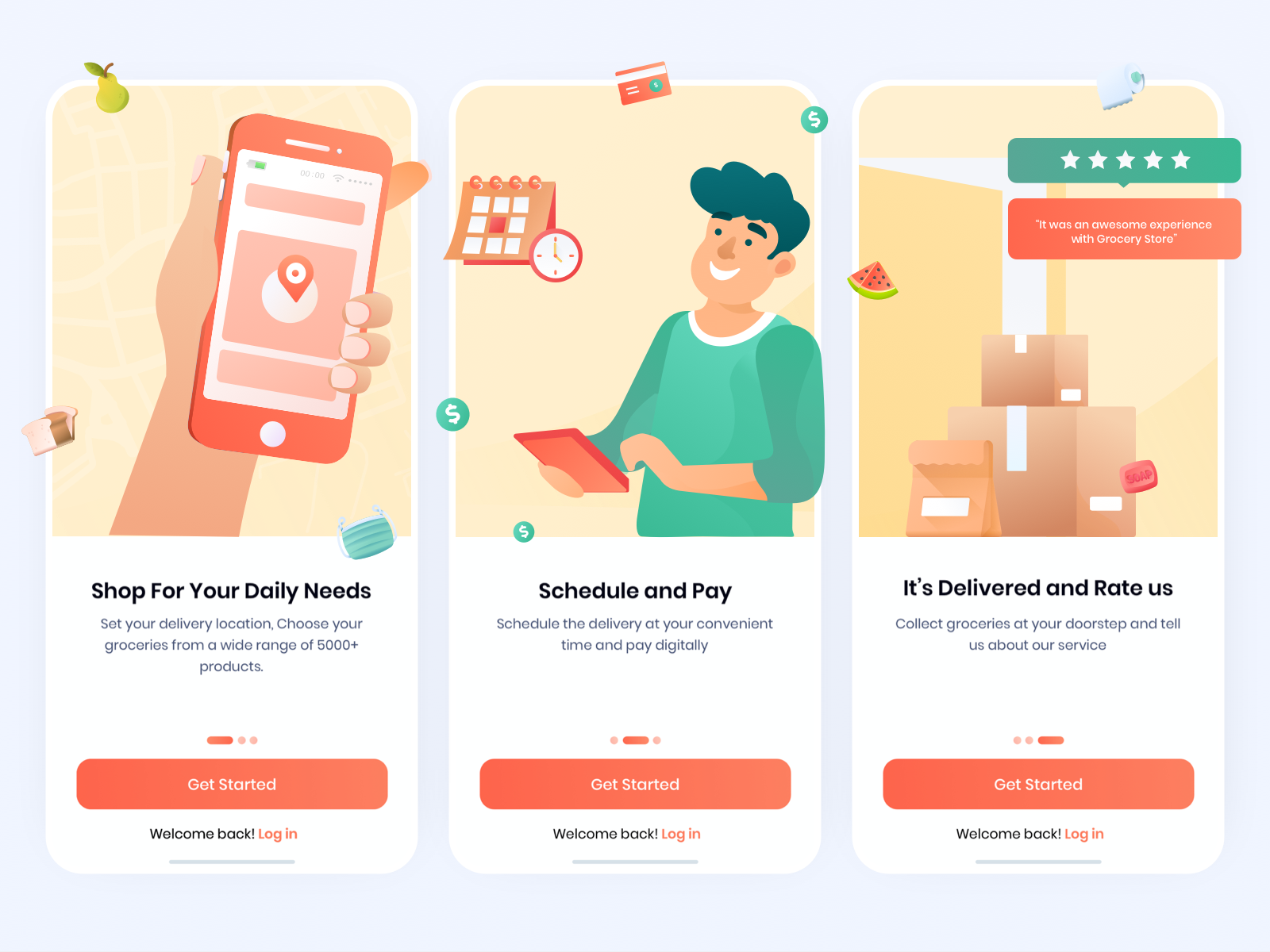 Grocery Delivery Onboarding - UpLabs