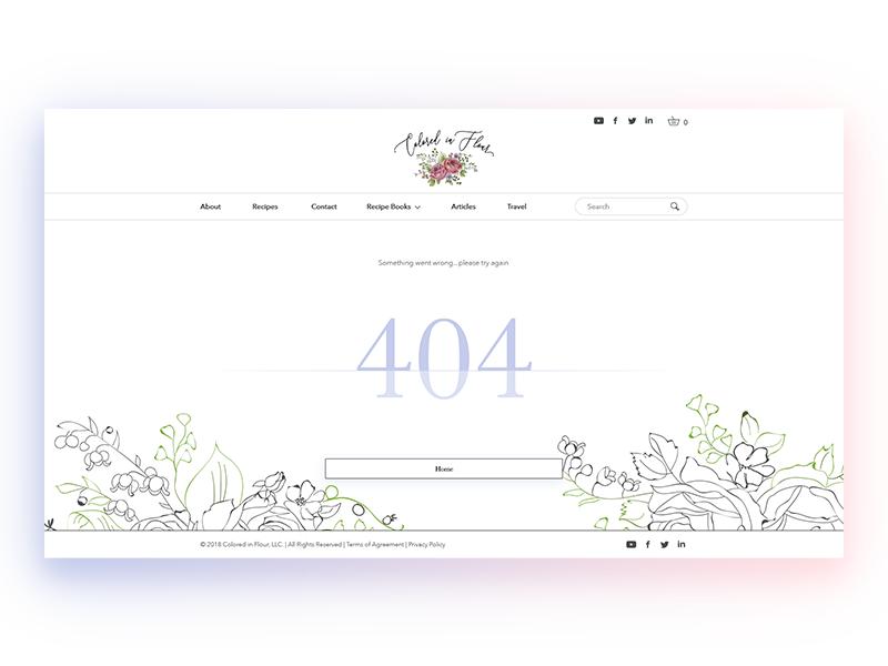 404 error page deisgn example #56: 404 page