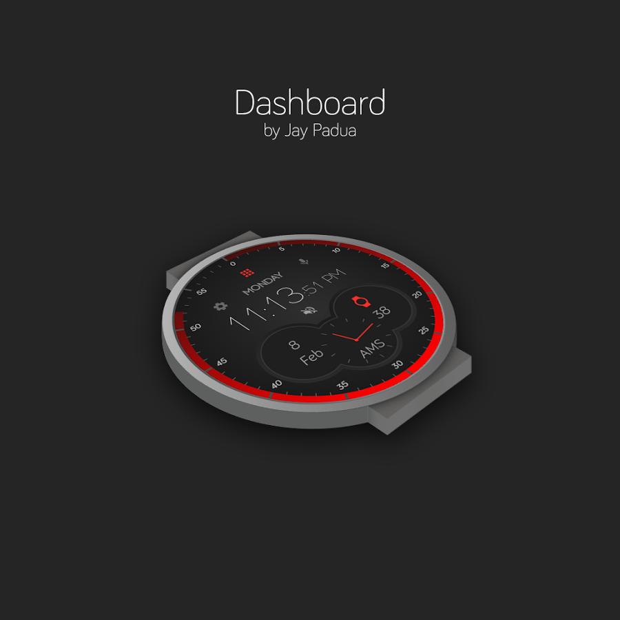 Designer android wear watchface - Designer Android Wear Watchface 33