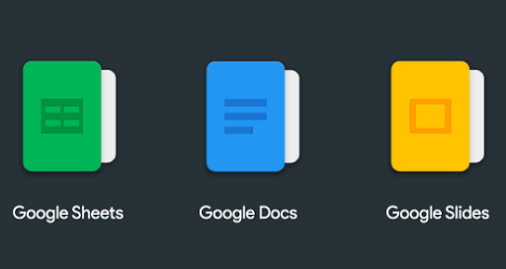 Google Sheets Google Docs Google Slides Icons Uplabs
