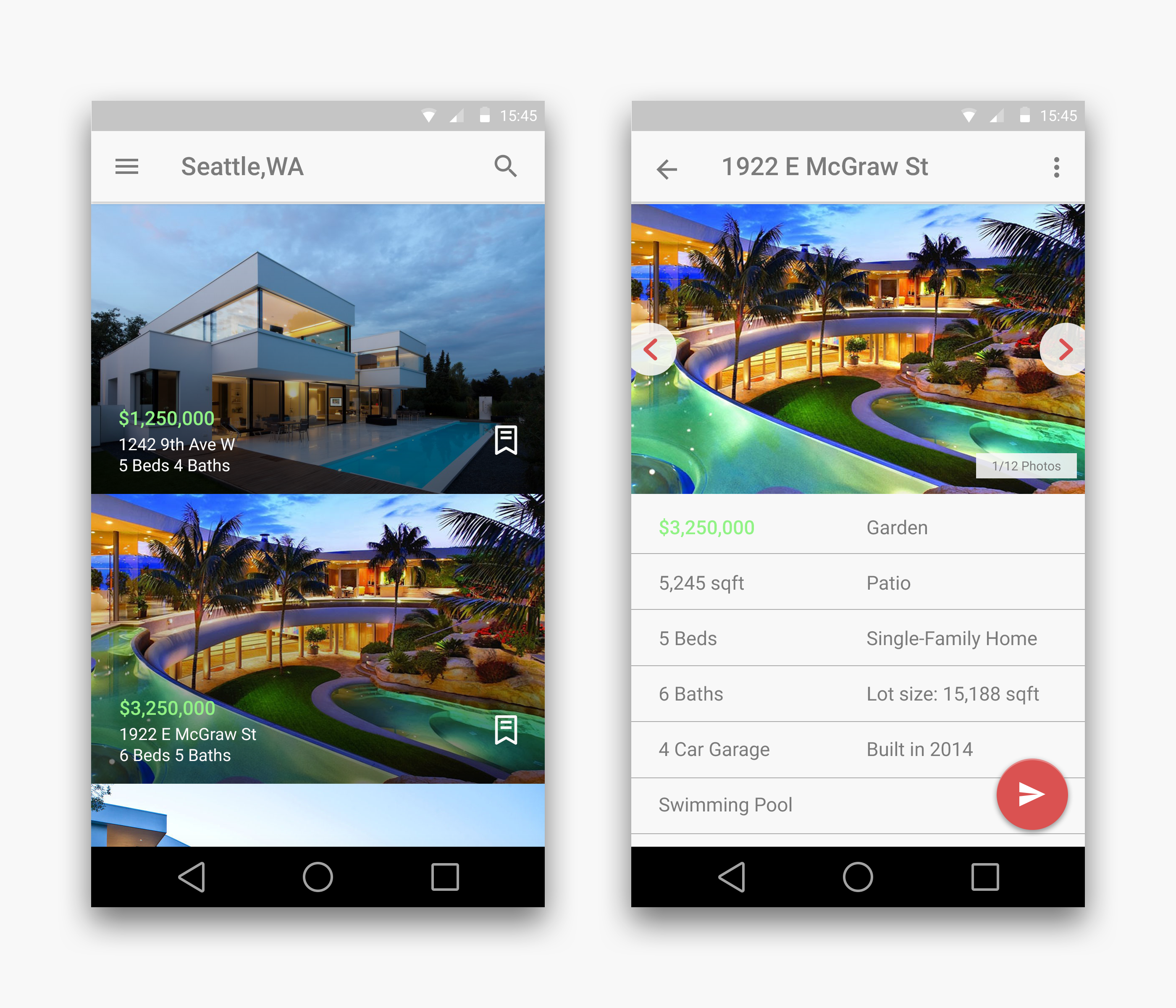 Homes For Rent Apps: Real Estate App Android